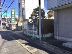 「東富安」バス停留所