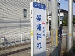 「琴浦神社」バス停留所