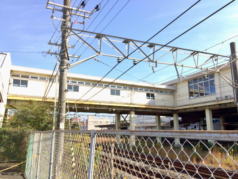 駅舎の外観です。