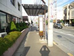 「櫛引」バス停留所