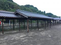 「人吉駅前」バス停留所
