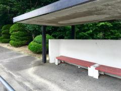 「名商大前」バス停留所