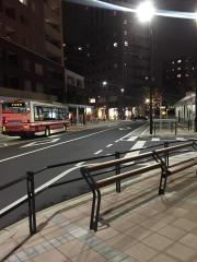 「国立駅北口」バス停留所