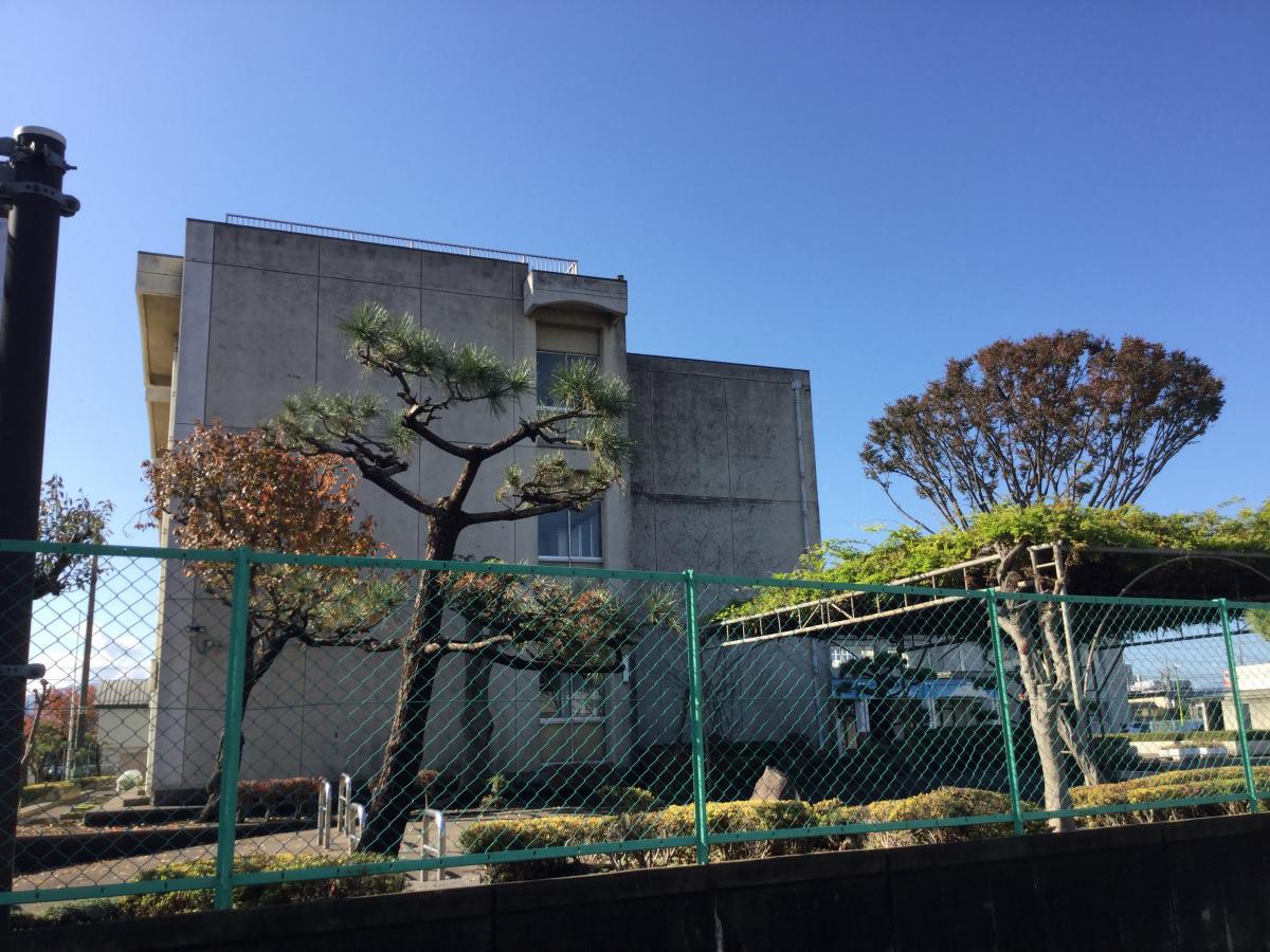 上溝南中学校 校舎