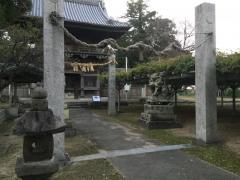 大中臣神社楼門