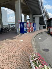 「大門駅」バス停留所