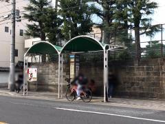 「千本今出川」バス停留所