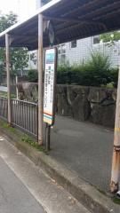 「関西学院千里国際キャンパス」バス停留所