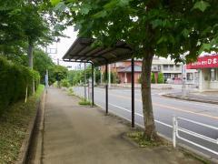 「船穂中学校」バス停留所