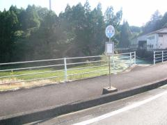 「下米野」バス停留所