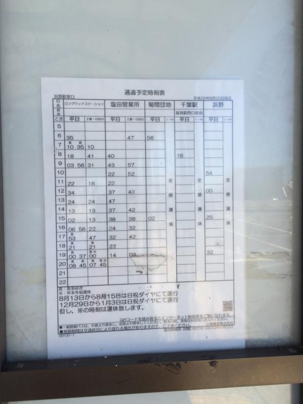 浜野 駅 から 千葉 駅