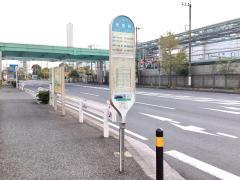 「東電前」バス停留所
