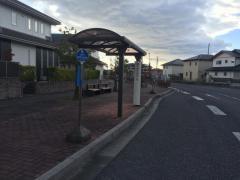 「陽だまりの丘北」バス停留所