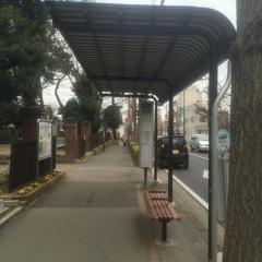 「日大生産工学部(東行)」バス停留所