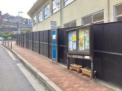 「大浦中学校前」バス停留所