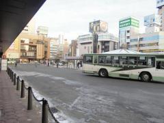 「盛岡駅」バス停留所