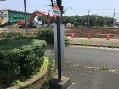 「羽島駅口」バス停留所