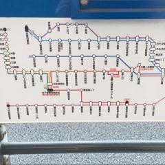 「川尻(堺)」バス停留所