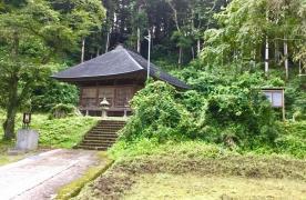 旭田寺中ノ沢観音堂