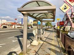 「上千田」バス停留所