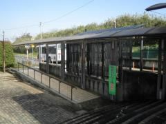 「石岡南台駅」バス停留所