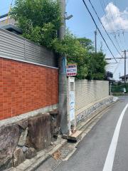 「学園緑ケ丘二丁目北口」バス停留所