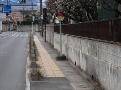 「福高前」バス停留所
