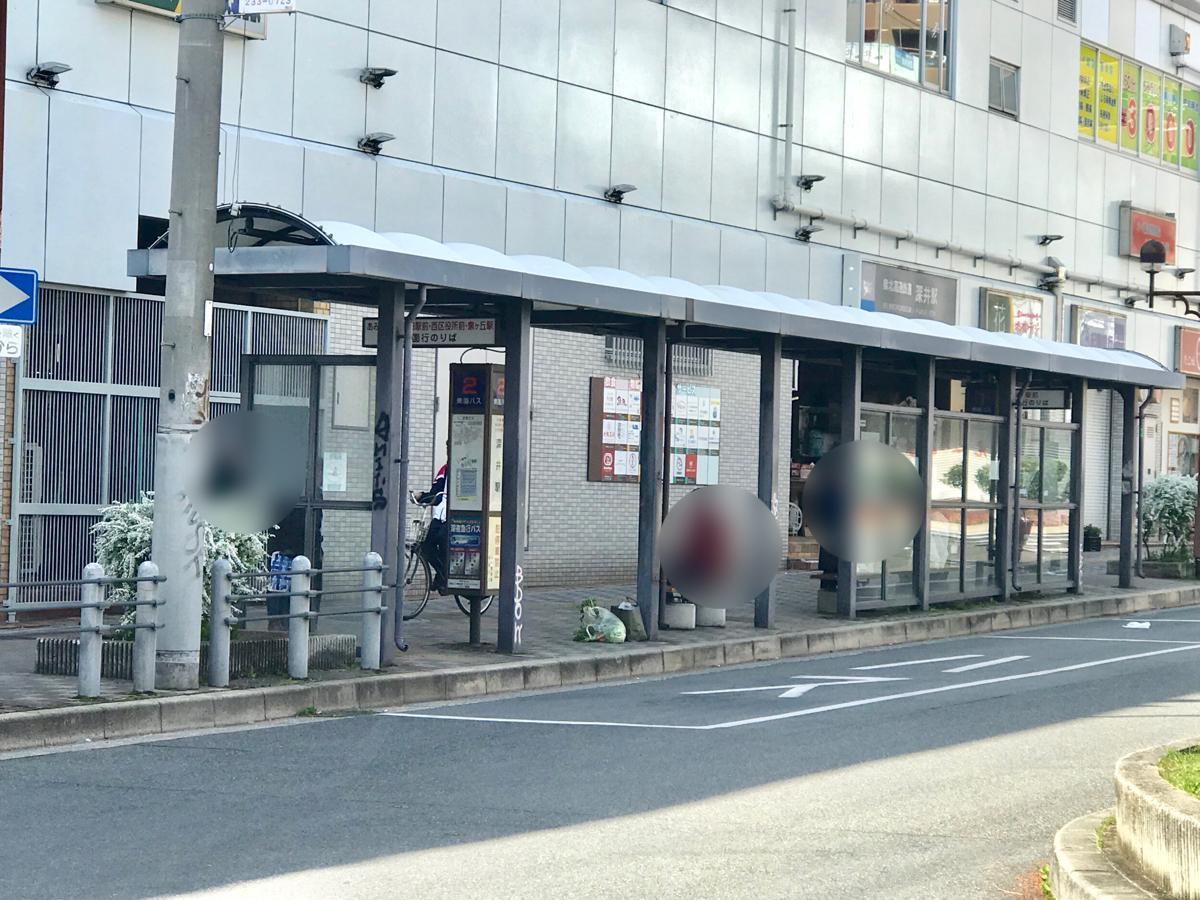 深井駅 (東側)