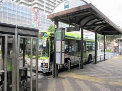 「赤羽駅西口」バス停留所