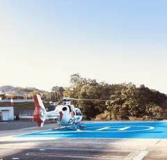 公立豊岡病院 但馬救命救急センターヘリポート