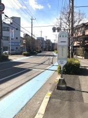 「神明台」バス停留所
