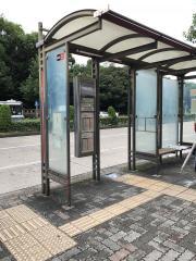 「神宮東門」バス停留所
