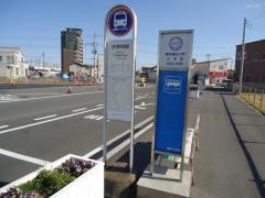 「伊勢崎駅」バス停留所