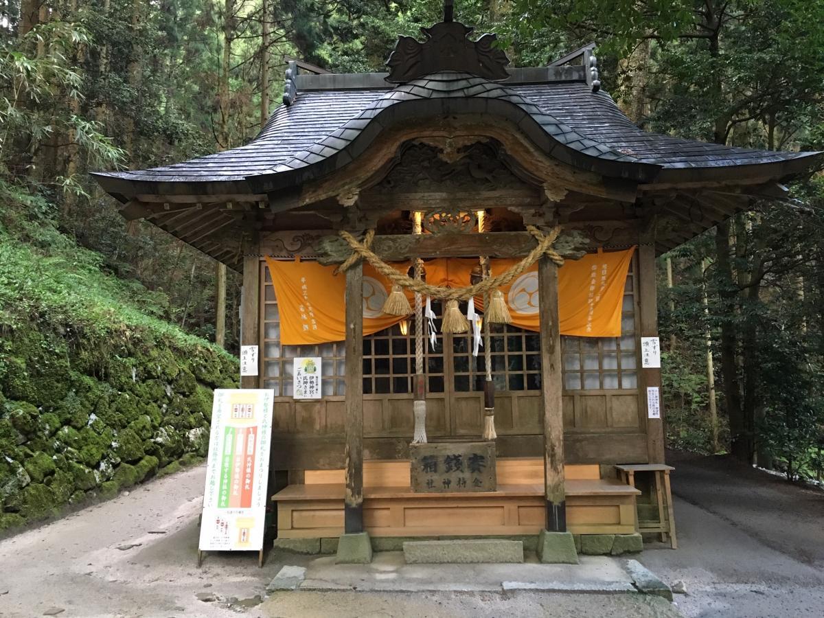 金持神社の本殿