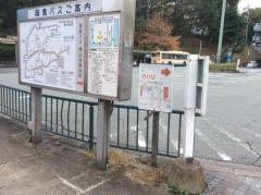 「桃山台駅前」バス停留所