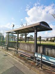 「羽曳ケ丘西二丁目」バス停留所