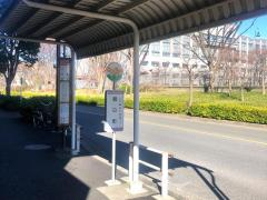 「朝日町」バス停留所