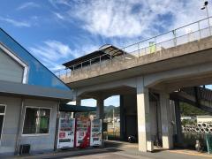 「平田駅」バス停留所