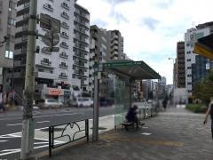 「曙橋」バス停留所